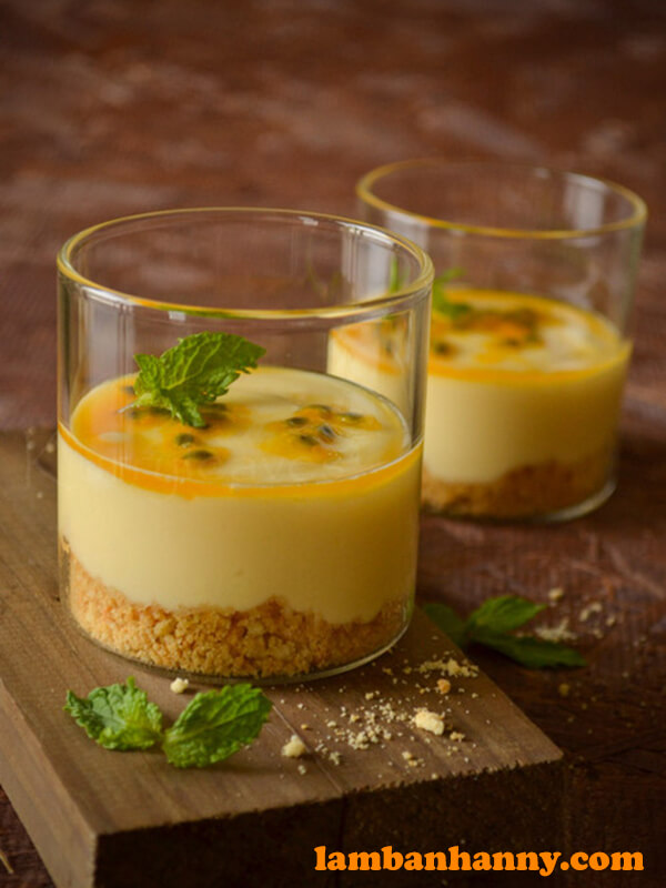 Pudding chanh dây