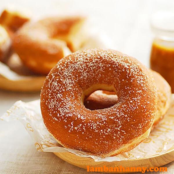 Bánh donut đường