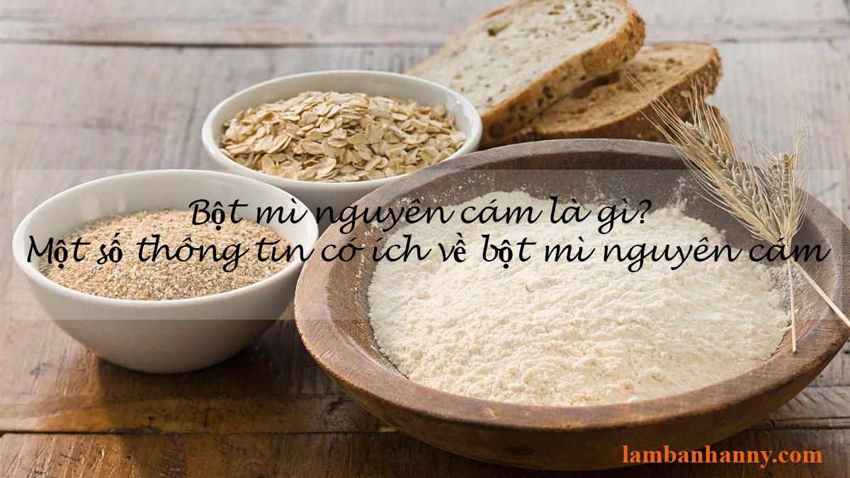 Bột mì nguyên cám là gì? Một số thông tin hữu ích về bột mì nguyên cám