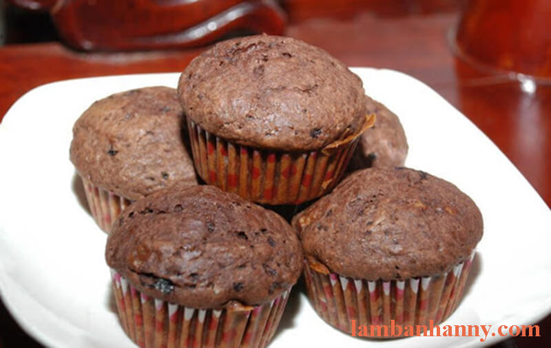 Bánh muffin cafe