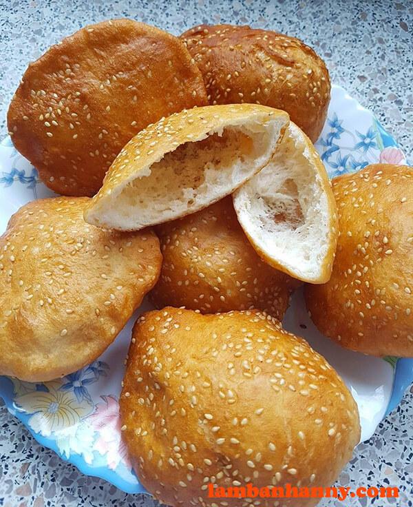 Bánh tiêu ruột rỗng thơm ngon