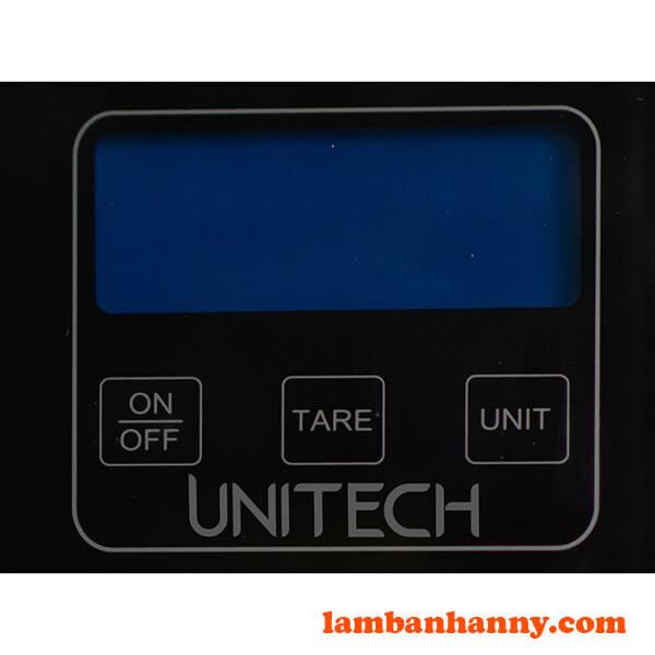 Bảng điều khiển của cân điện tử Unitech SU-3011