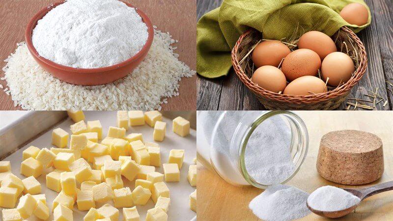 Cách làm bánh Castella bằng bột gạo