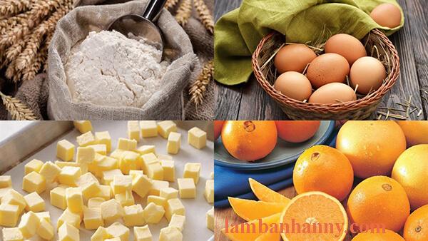 Cách làm bánh bông lan phô mai cam thơm ngon bông mềm dễ làm 1