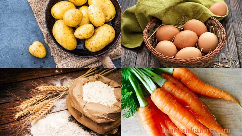 Cách làm bánh khoay tây trứng