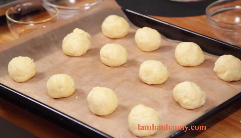 Cách làm bánh mì phomai brazil 6