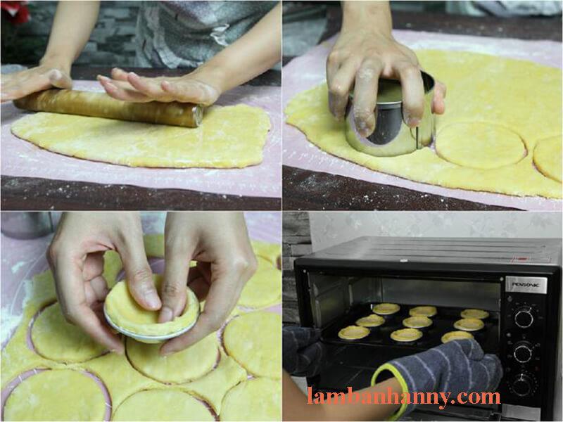 Cách làm bánh tart trứng 5