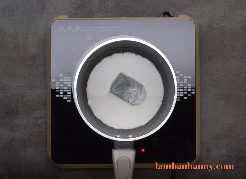 Cách làm bánh trà sữa trân châu đường đen 1