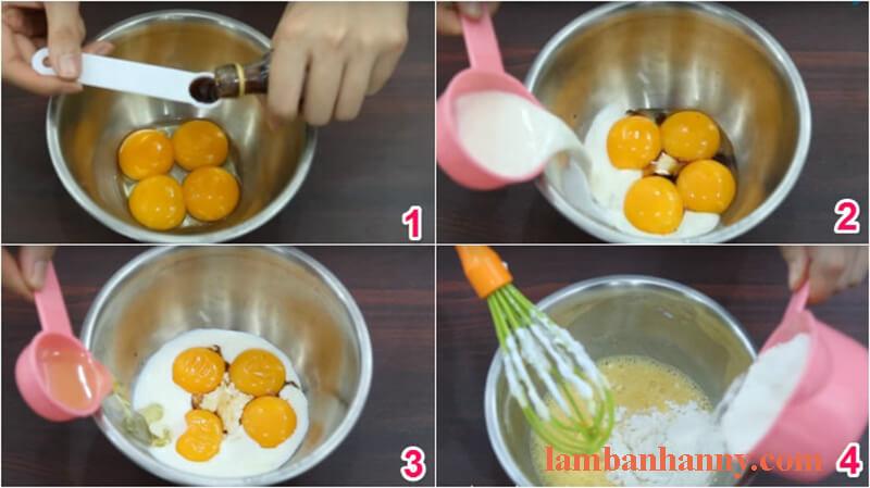 Cách làm bánh trà sữa trân châu đường đen 4