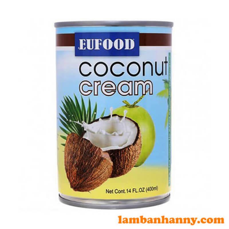 Nước cốt dừa Thái Lan Eufood 400ml