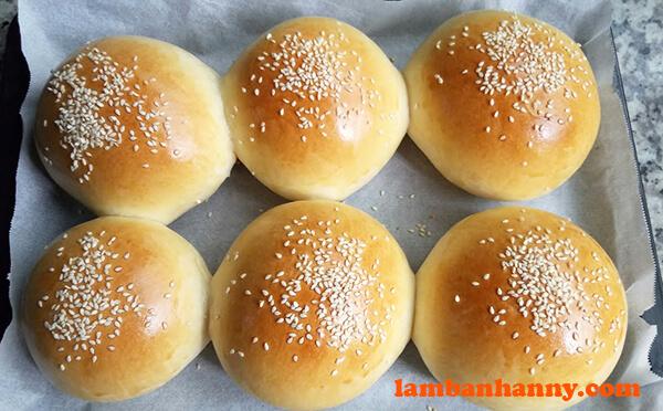 Vỏ bánh mì hamburger