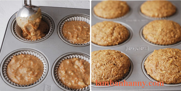 cach lam banh muffin ca rot 3
