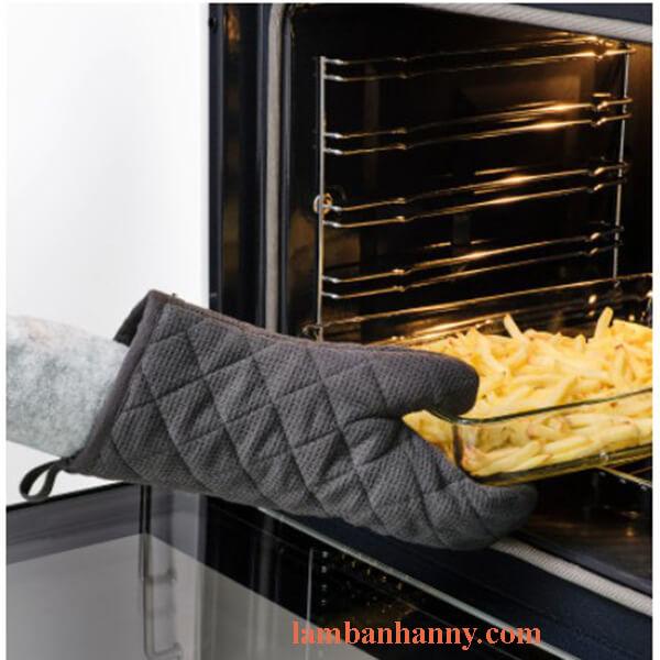 găng tay nướng bánh chịu nhiệt
