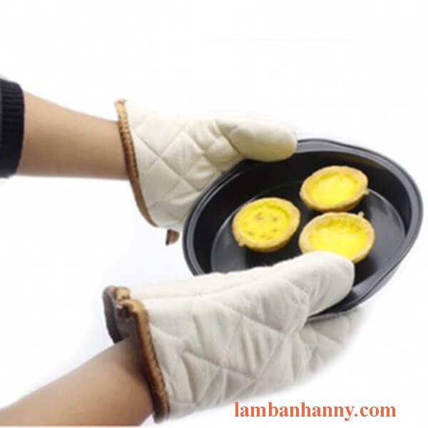 găng tay nướng bánh