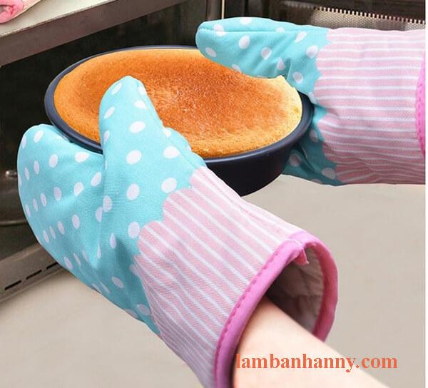 găng tay vải chịu được nhiệt độ cao
