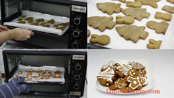 nướng bánh quy bằng giấy bạc