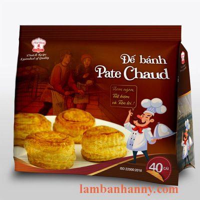 Đế bánh Pate Chaud 1