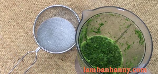 2 Cách làm bánh ít trần lá dứa nhân dừa và nhân đậu xanh đơn giản 2