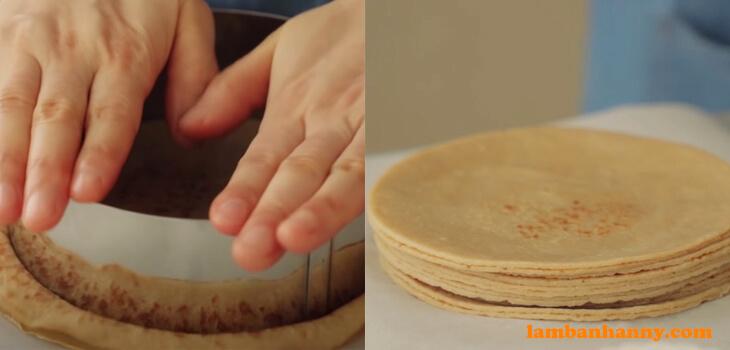 Bánh crepe trà sữa trân châu đường đen - (10)