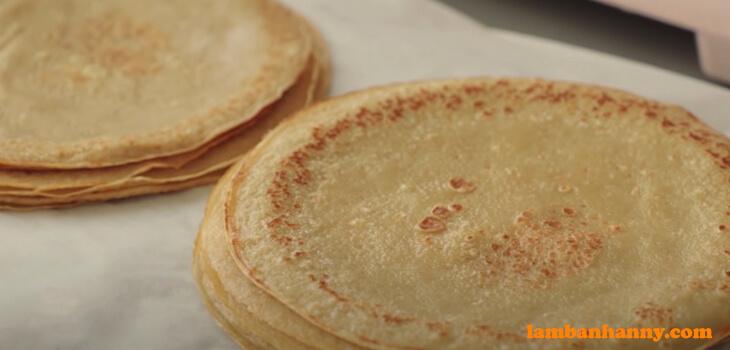 Bánh crepe trà sữa trân châu đường đen - (8)