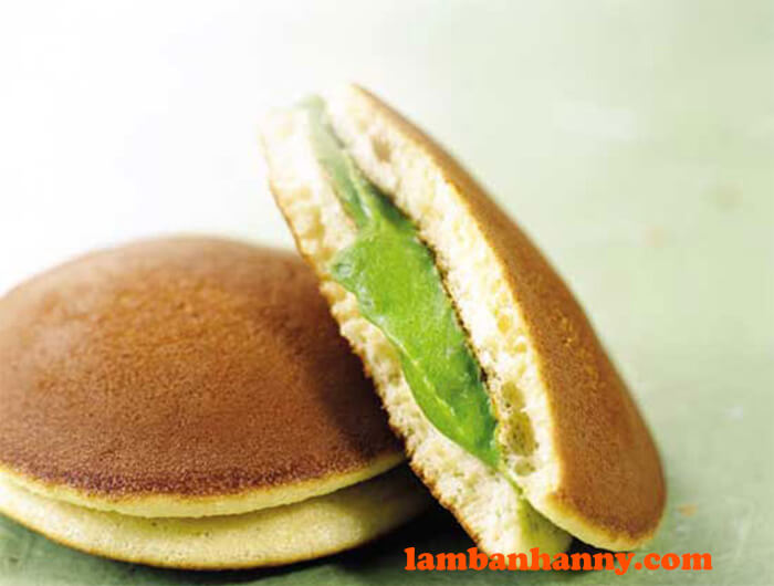 Bánh rán Doremon nhân trà xanh