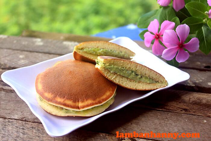 Bánh rán nhân trà xanh