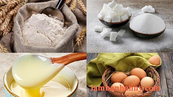 Cách làm bánh cupcake bông lan sữa đặc xốp mềm mịn thơm ngon 1
