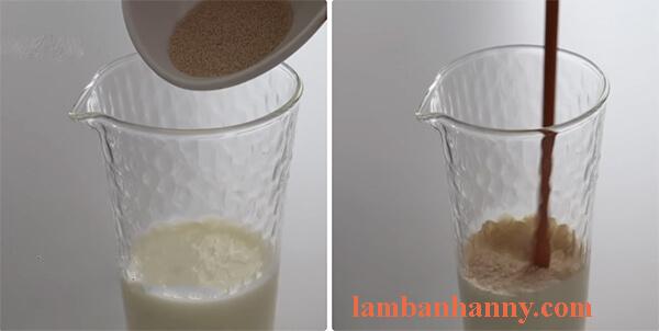 Cách làm bánh mì mini nhân dâu tây 1