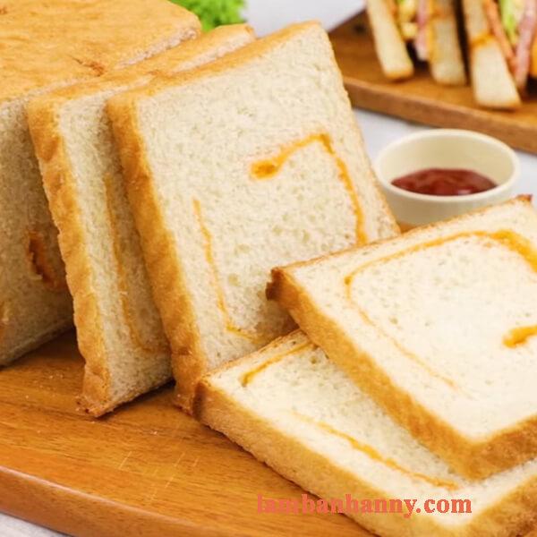 Cách làm bánh mì sandwich phô mai thơm béo đơn giản tại nhà 15