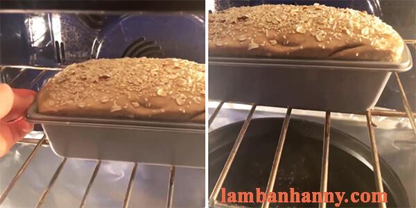 Cách làm bánh mì yến mạch nguyên cám dành cho người giảm cân 15
