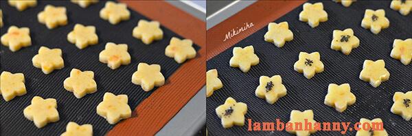 Cách làm bánh quy trứng muối nhỏ xinh thơm lừng lạ miệng 10