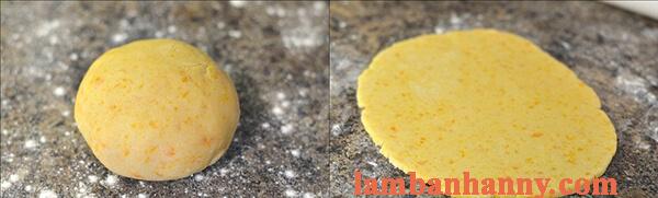 Cách làm bánh quy trứng muối nhỏ xinh thơm lừng lạ miệng 8