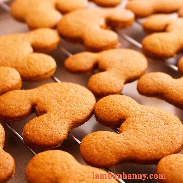 Cách làm bánh quy vị quế gừng thơm ngon giòn rụm 5
