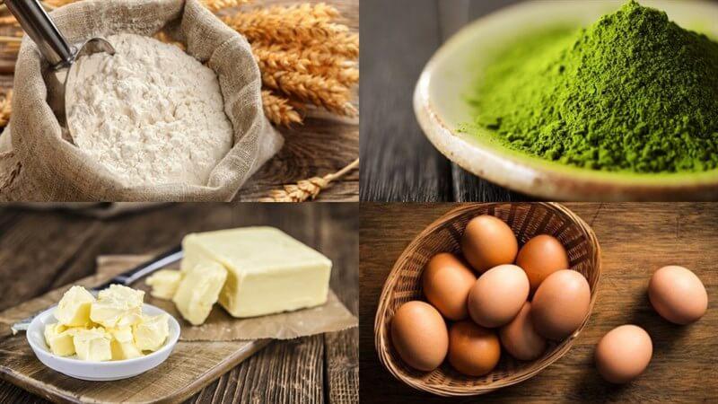 Cách làm bánh sò - madeleine trà xanh thơm ngon hấp dẫn tại nhà 2