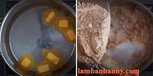 Cách làm bánh su gạo lứt cho người ăn kiêng 12