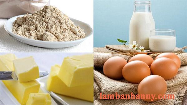 Cách làm bánh su gạo lứt cho người ăn kiêng 2