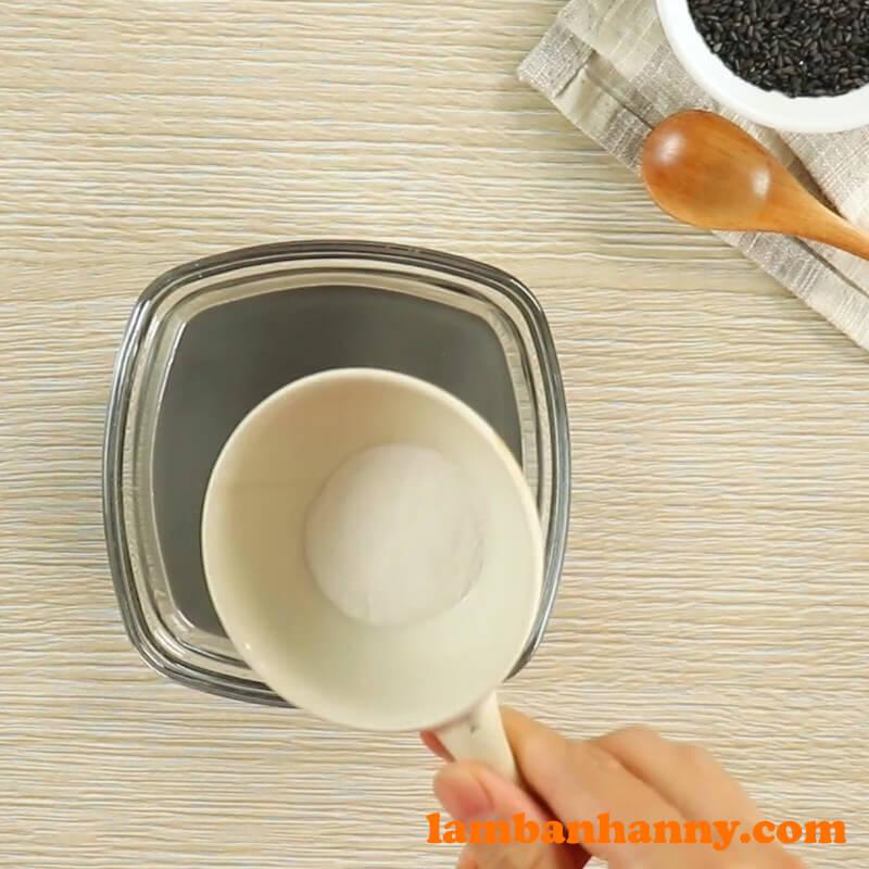 Thạch flan rau câu mè đen - 2