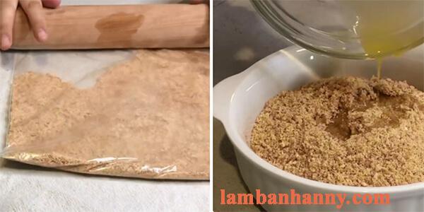 cách làm bánh cheesecake trái vải 5