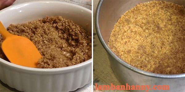 cách làm bánh cheesecake trái vải 6