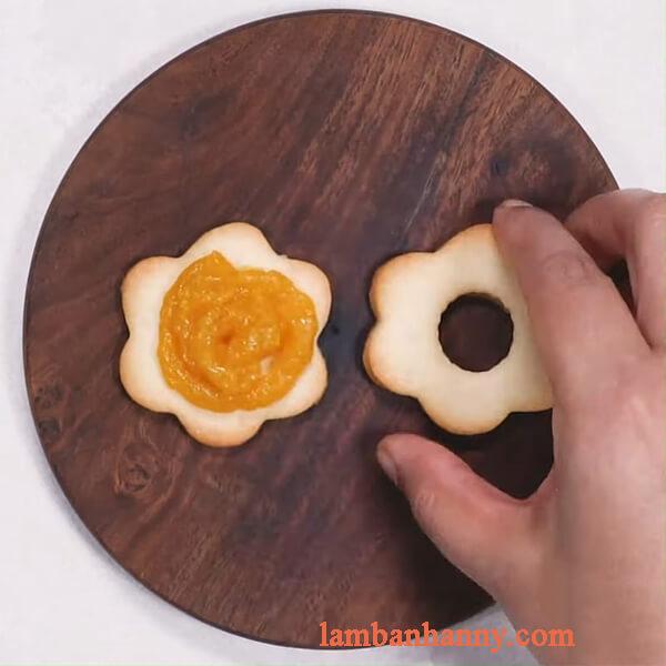 cách làm bánh quy mứt xoài 2