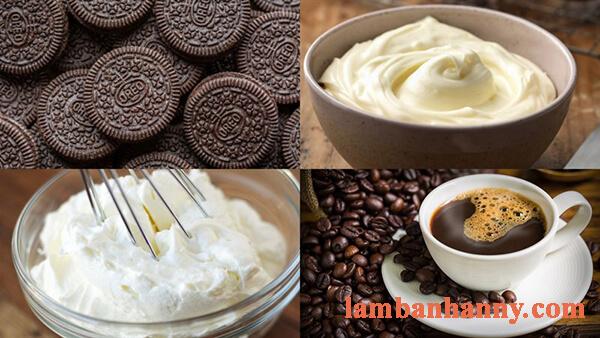 2 cách làm bánh cheese cake cà phê thơm ngon mềm mịn đơn giản 4