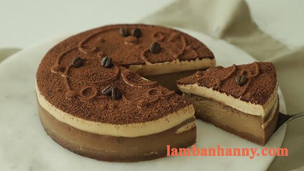 2 cách làm bánh cheese cake cà phê thơm ngon mềm mịn đơn giản