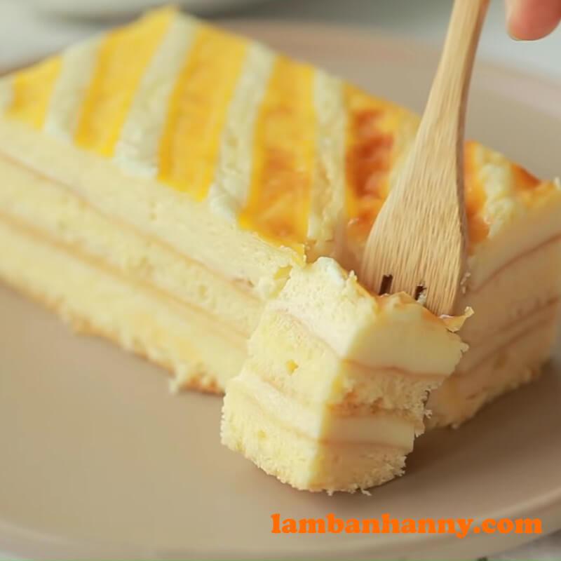 Bánh bông lan cream cheese sữa chua - 16