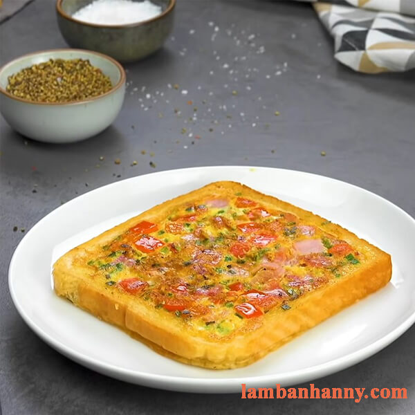 Bật mí 2 cách làm bánh pizza sandwich thơm ngon bỗ dưỡng cho mỗi buổi sáng 7