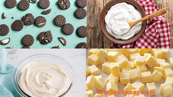Bật mí 2 cách làm cheesecake oreo truyền thống thơm ngon hấp dẫn không cần lò nướng 2