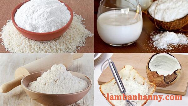 Cách làm bánh bò nướng nhân dừa bằng chảo thơm ngon đơn giản 2