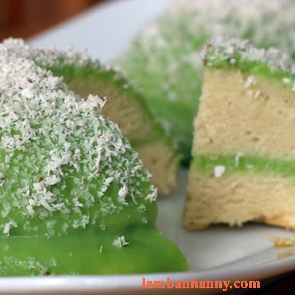 Cách làm bánh bông lan phú sĩ không cần lò nướng thơm ngon mềm mịn 5