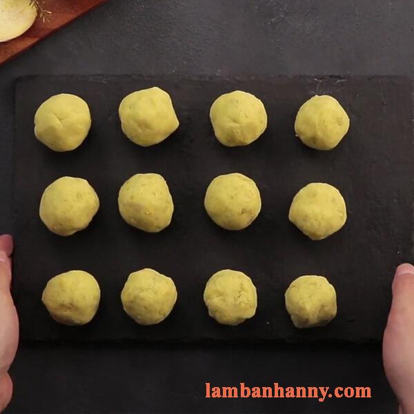 Cách làm bánh bao nhân khoai lang vàng thơm mịn màng 3