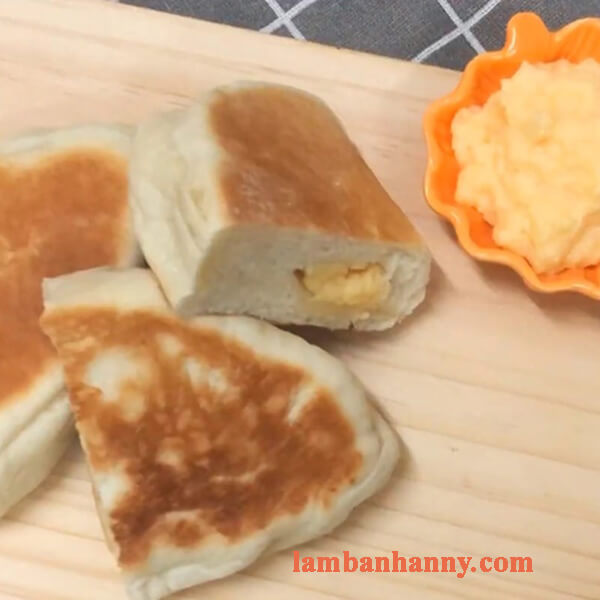 Cách làm bánh mì cadé thơm ngon đơn giản không cần lò nướng 3