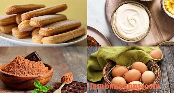 Cách làm bánh tiramisu khúc cây thơm ngon đơn giản 1